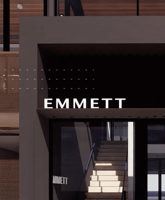 Emmett Branding and social content Loop