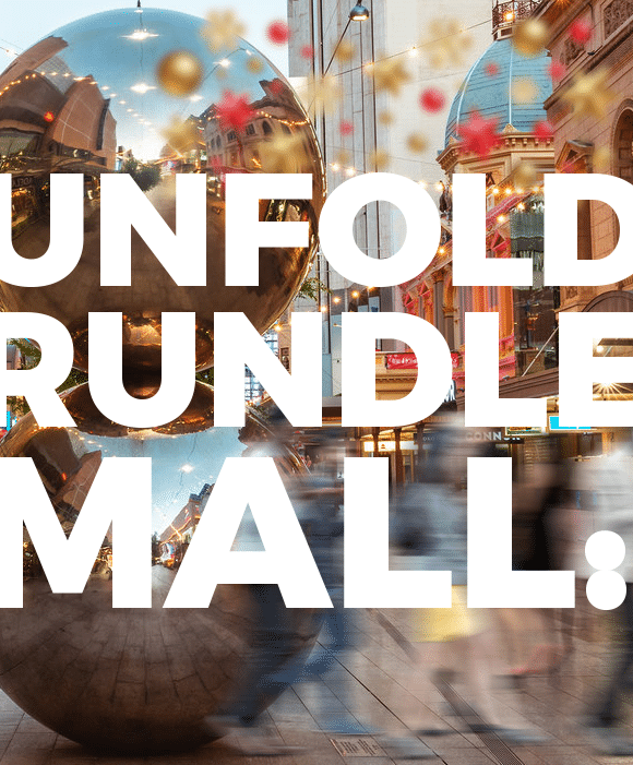 Rundle Mall Promotional Christmas Video Loop